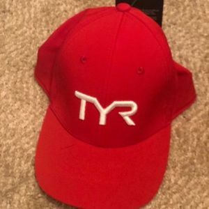 TYR Flat bill hat. Never worn. New with tags